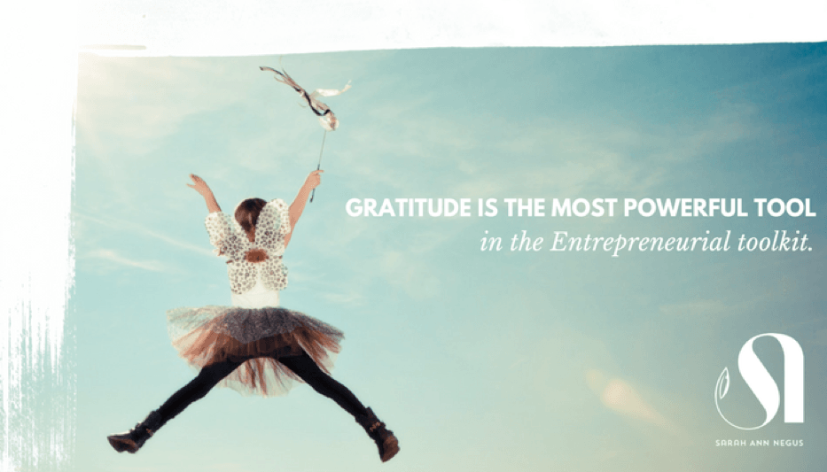 gratitude tool in entrepreneurial toolkit