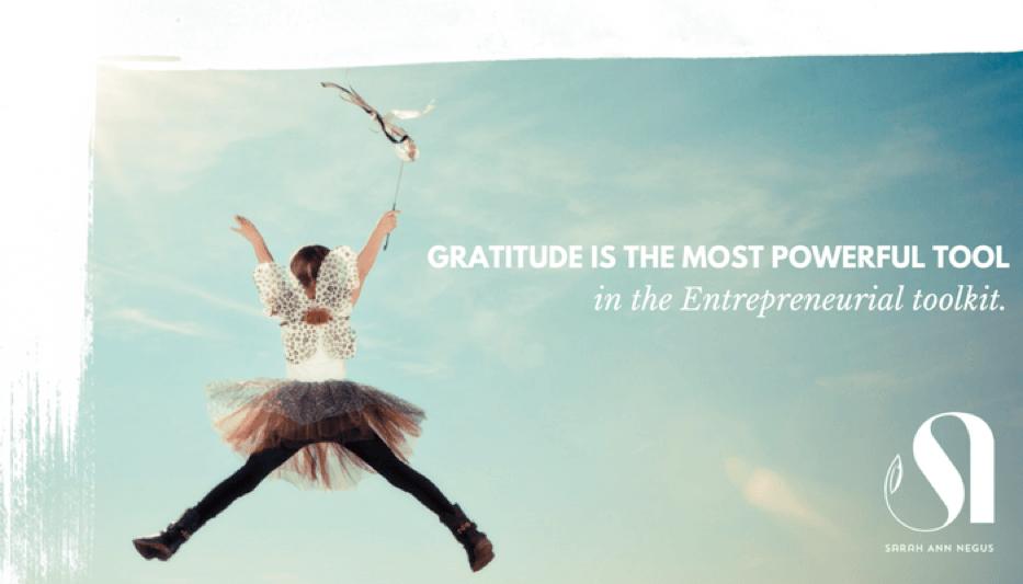 gratitude tool in entrepreneurial toolkit